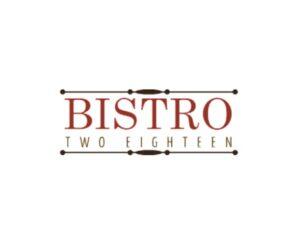 bistro two eighteen birmingham al logo 1 1 300x241