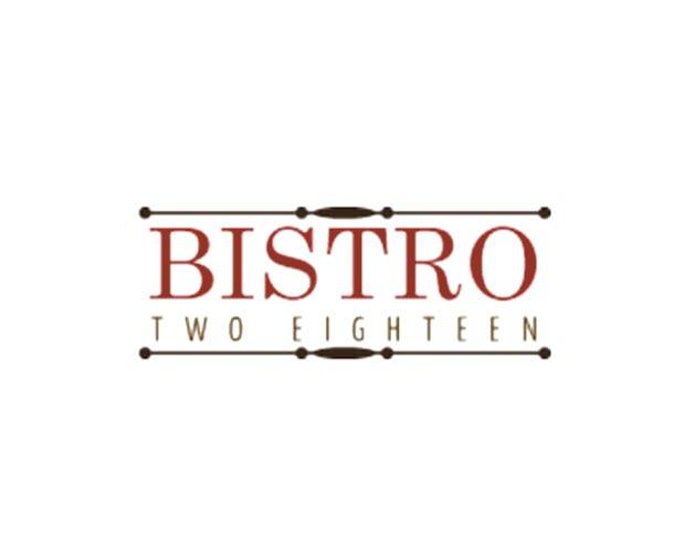 bistro two eighteen birmingham al logo 1