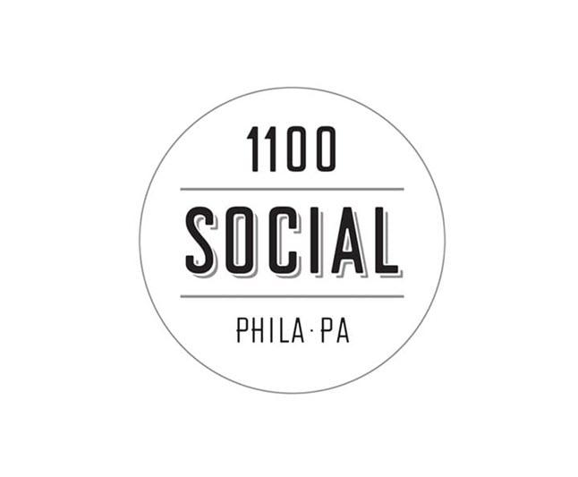 1100 social philadelphia pa logo 1 1