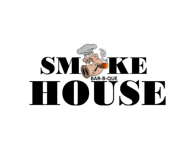 1991 smoke house barbecue trenton nj logo 1 1